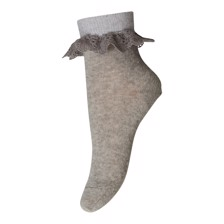 MP Denmark Anklesock blonde - Grey