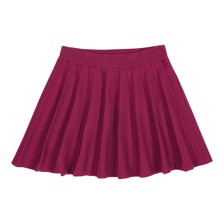 FUB Wool Skirt Plum