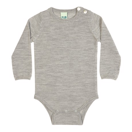 FUB Baby Body - Light Grey