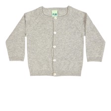 FUB Baby Cardigan Light Grey
