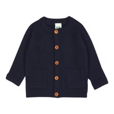 FUB Baby Wool Jacket-  Navy