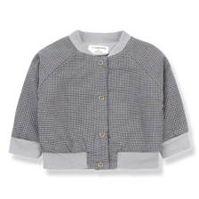 1+ in the family - Gilbert bomber jacket light grey