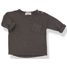 1+ in the family - Jasper long sleeve t-shirt cacao