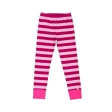 Katvig Leggings Strib Pink