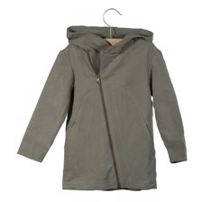 Little Hedonist Coat Xam Warm Grey