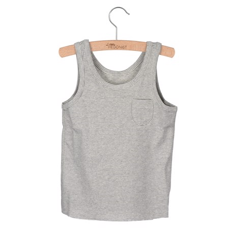 Little Hedonist Tanktop Lily Grey/antique striped