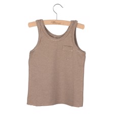 Little Hedonist Tanktop Lily Brown/Antique striped