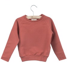 Little Hedonist Sweater Caecillia Uni Brick
