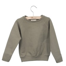 Little Hedonist Sweater Caecillia Uni Army