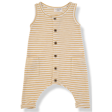 1+ in the family - Modrian jumpsuit mustard